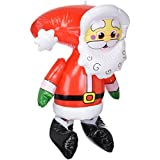 """24"""" Tall Christmas Santa Inflatable ~ Indoor Or Outdoor Decor"""