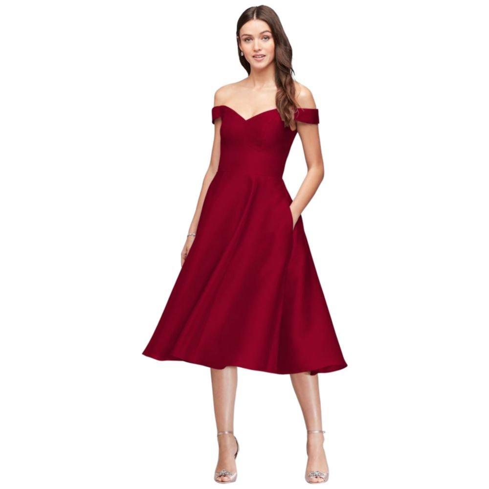 bf45ee2e882 Davids Bridal One Shoulder Chiffon Dress - Data Dynamic AG
