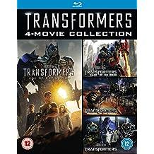 Transformers 1-4 [Blu-ray] Box Set Includes 1 2 3 & 4