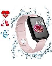 Gelrova Fitness Tracker Activity Tracker Fitness Armband Touchscreen IP67 waterbestendigheid met Bluetooth stappenteller slaapmonitor teller oproepsms-sns-herinnering, voor kinderen vrouwen mannen