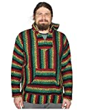 Baja Joe Eco-Friendly Woven Striped Pullover Baja