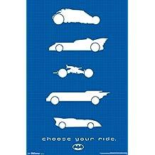 Trends International RP13289R Batman Rides Wall Poster