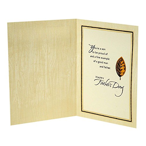Hallmark Father's Day Greeting Card for Son (A Fine Example of a Good Man) Photo #4