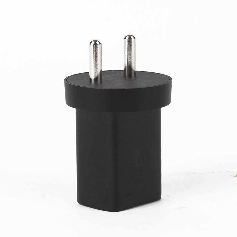 Motorola Moto SPN5879A Power Wall Adapter with Dual USB Port, 1150 mAh, Small (Black)