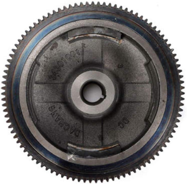 TFCFL Electric Starter Motor Kit Flywheel for GX340 11HP GX390 13HP Engine