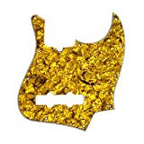 D'Andrea Jazz Bass Pickguards for Electric Guitar, Gold Pearl