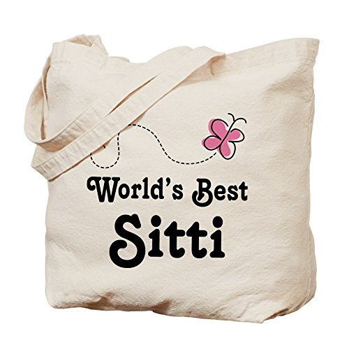 CafePress Tote Bag - Sitti (Worlds Best) Tote Bag by CafePress