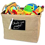 how to decorate a studio apartment OrganizerLogic Jute Storage Basket, Chalkboard and Non Toxic Chalk Marker Included, Customizable Jute Storage Box, Organizing Toys, Shoes, Laundry, Pillows, Blankets, Pet Toys 17 x 13 x 13 Inches