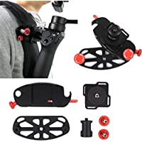 Littleice Backpack Chest Strap Belt Mount Attaching Clamp Retaining Clip for DJI OSMO/OSMO+/OSMO Mobile Handheld Gimbal Camera