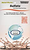 Industrial Test Systems WaterWorks 481200 Sulfate Check Test Strip, 0-400 ppm Range (Pack of 30)