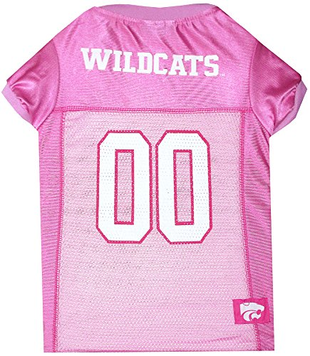 NCAA KENTUCKY WILDCATS Dog Pink Jersey, Small. - Pet Pink Outfit.