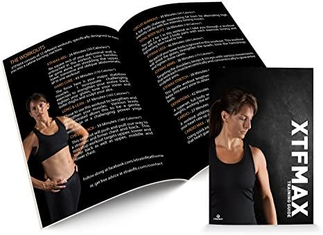 XTFMAX: 90 Day DVD Workout Program with 12 Exercise Videos + Training Calendar & Fitness Guide and Nutrition Plan 2