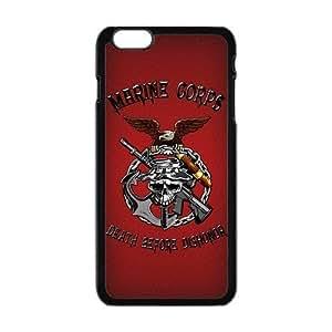 Generic Custom Extraordinary Best Design USMC(US Marine Corps) Symbol Series Plastic Case Cover for iPhone6 4.7 inch
