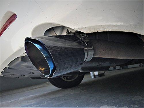 NETAMI NT-3051 3 Inlet Polished Carbon Fiber Exhaust Tip