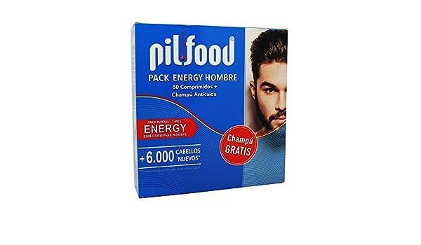 PILFOOD PACK ENERGY HOMBRE 60 COMPRIMIDOS+CHAMPU ANTICAIDA: Amazon.es: Salud y cuidado personal