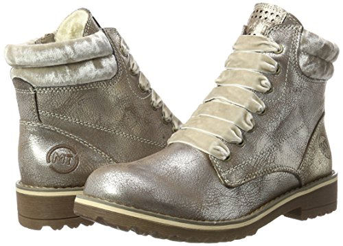 Bronce MARCO TOZZI Damen Braun Comb Stiefel 26280 nzfx6pzw