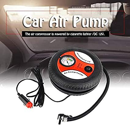 Topbuy Portable Car Air Pump Handheld Power Tire Air Compressor