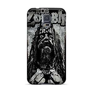 RobAmarook Samsung Galaxy S5 Protective Hard Phone Case Provide Private Custom Beautiful Rob Zombie Skin [HvM10678YxMw]