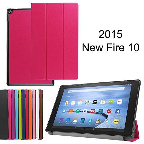 """Photo - Fire 7 case, Fire 7 2015 case, Asstar Ultra Slim Lightweight Impact Resistant Armor Kickstand Defender Cover for Amazon Fire 7 Tablet (will only fit Fire 7"""" Display 5th - 2015 release) (Pink)"""