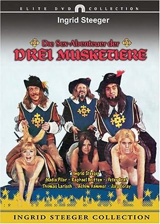 Die Sex-Abenteuer der Drei Musketiere [Import allemand]