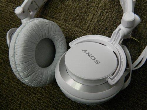 Sony MDR-V55/WHI DJ style Headphones
