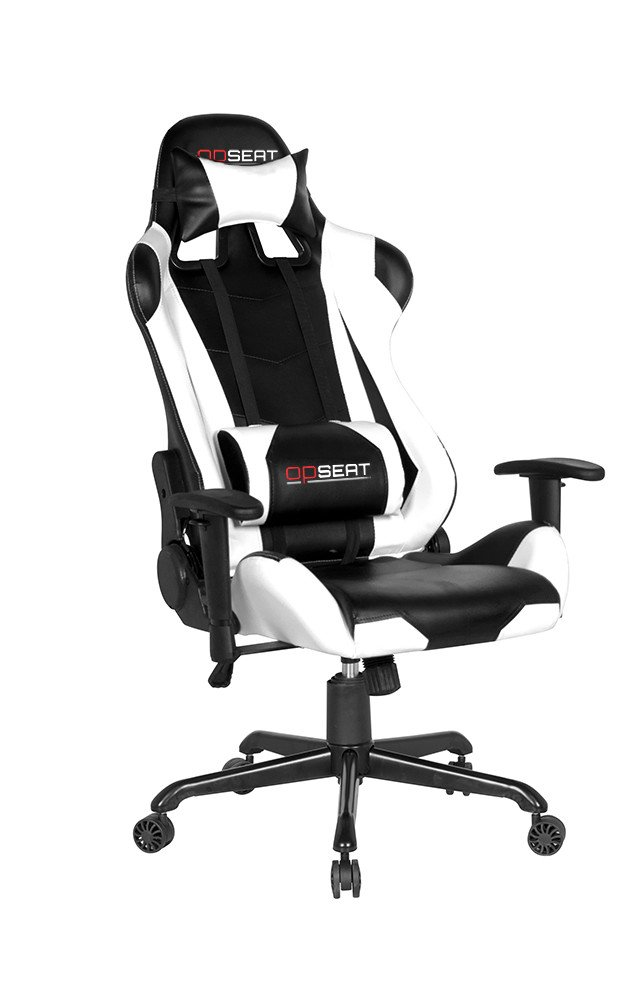 Amazon.com: OPSEAT Master Series PC Gaming Chair Racing Seat Computer  Gaming Desk Chair (White): Kitchen U0026 Dining