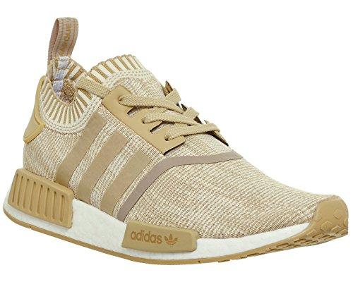 Adidas Originals Mens Nmd_r1 Pk Sneaker Linne Khaki Benvit By1912
