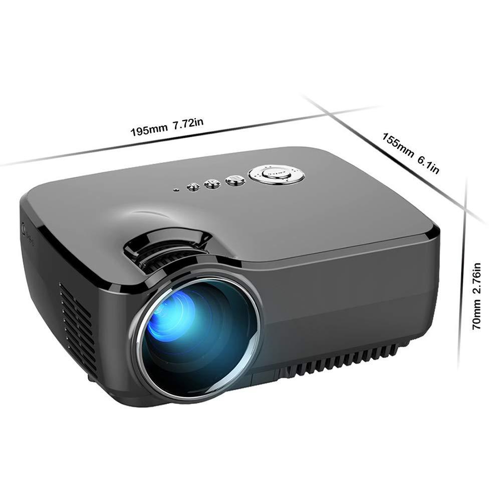 Averxi アンドロイドプロジェクターでwifi bluetoothサポート4 k * 2 kビデオプロジェクター用ホームシアター映画ビーマー付きhdmi vga av usb (GP70) B07R55NDWZ  GP70