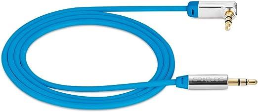 Sentivus 0 25m Aux Kabel Audio Klinkenkabel 3 5mm 90 Elektronik