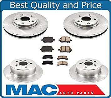 Brake Pads And Rotors Prices >> Amazon Com New Brake Rotors Brake Pads For Lexus Rx300 99