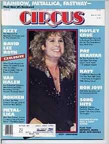 Circus Magazine May 31, 1983 Van Halen Kiss Iron Maiden See My Store