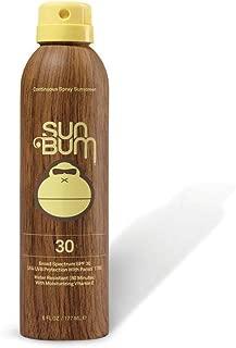 product image for Sun Bum Sun Bum Original Spf 30 Sunscreen Spray Vegan and Reef Friendly (octinoxate & Oxybenzone Free) Broad Spectrum Moisturizing Uva/uvb Sunscreen With Vitamin E 2 Pack