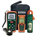 Extech Instruments LRK15 Lighting Retrofit Kit with Power Clamp Meter