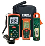 Extech LRK15 Lighting Retrofit Kit with Power Clamp Meter