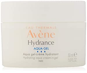 Eau Thermale Avène Hydrance Hydrating Aqua Cream-in-Gel, 24 Hour Hydration, Antioxidant Protection, 1.6 Oz