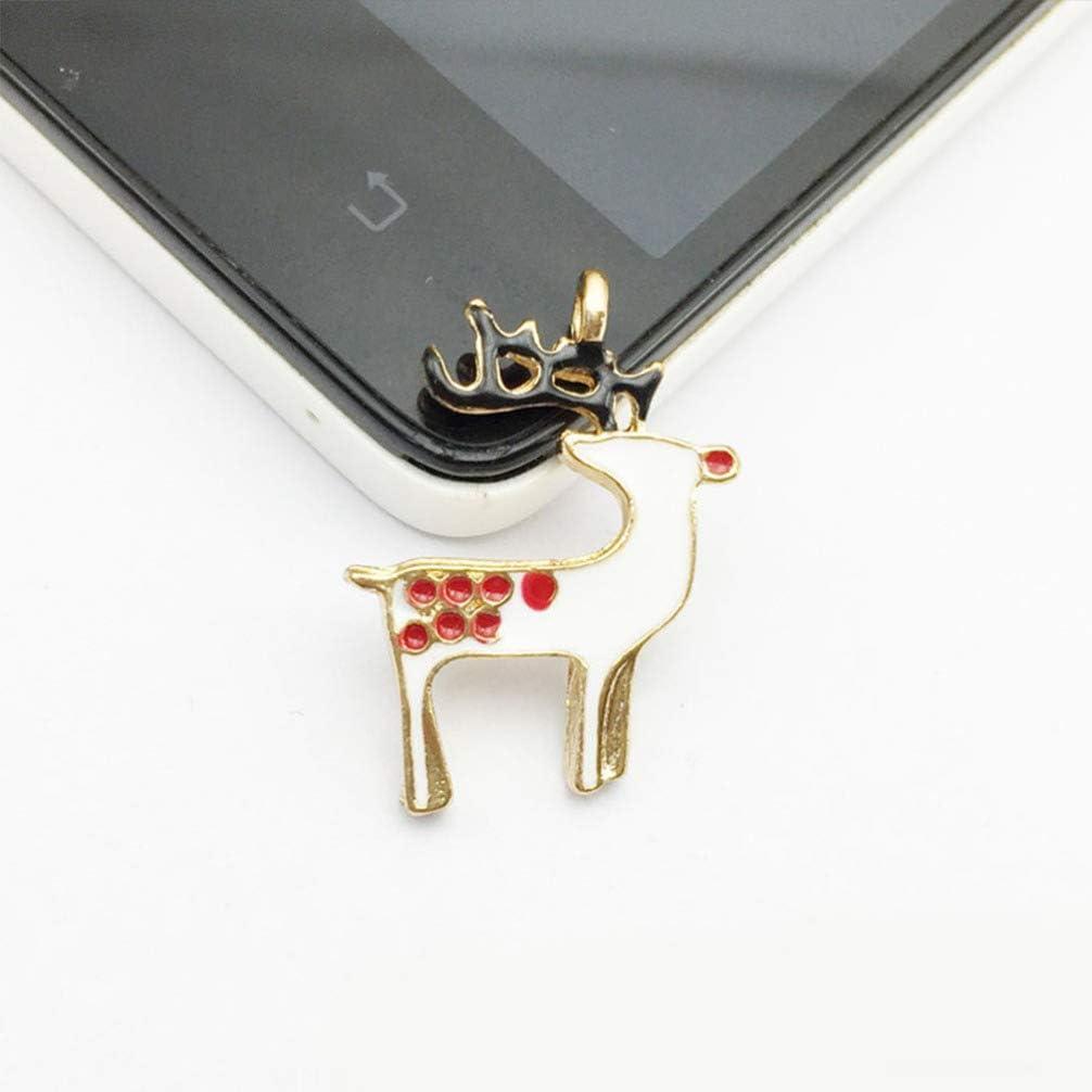 TENDYCOCO Pendentif de Noel breloque pour la Fabrication de Bijoux Confection de Breloques en /émail Assorties 20pcs
