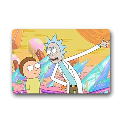 Rick and Morty Doormat