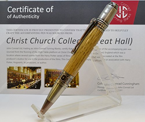 Christ Church College (Great Hall) Refillable Ball point Pen (#714/715) by Crows Woodturnings