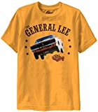 Dukes of Hazzard General Lee Gold T-shirt (Youth Small)