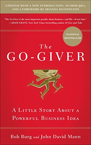 """Most people just laugh when they hear that the secret to success is giving. . . . Then again, most people are nowhere near as successful as they wish they were.""   The Go-Giver tells the story of an ambitious young man named Joe who yearns for succe..."