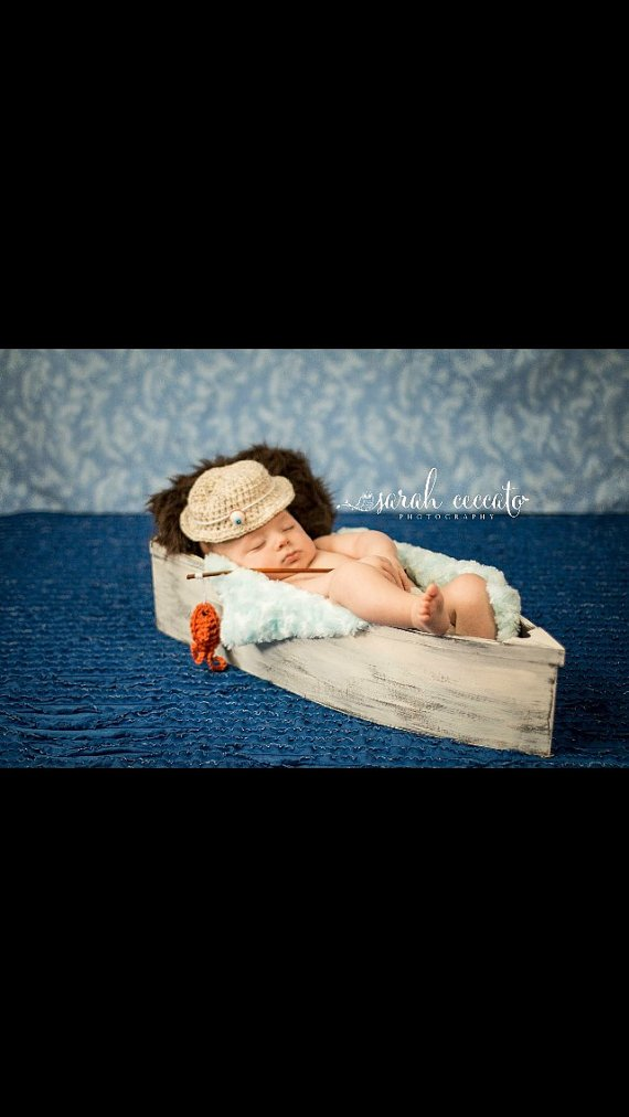 NEW to Amazon Photography prop, Wooden Boat, Photography Baby Bed. Boat, Newborn Photo Prop