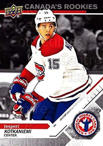 Jesperi Kotkaniemi Hockey Card 2019 Upper Deck National Hockey Card Day Canada #4 Jesperi Kotkaniemi