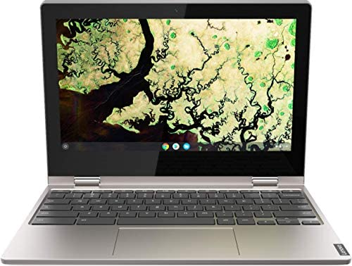 "Lenovo Chromebook C340 2-in-1-11.6"" HD Touchscreen - Celeron N4000-4GB - 32GB eMMC - Gray (Renewed)"