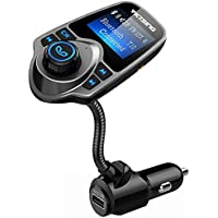 VicTsing Bluetooth FM Transmitter, Wireless In-Car Radio...