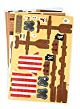 Melissa & Doug Pirate Ship 3-D Puzzle and Ship in One  (100+ pcs, 21 x 16 x 5.25 inches, assembled)