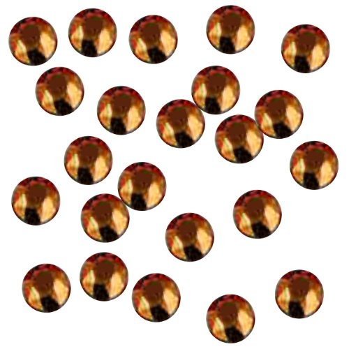 Copper Rhinestones (Rhinestone Genie Embellishment Hot Fix Rhinestuds, Copper)