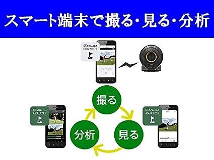 9c7a9e579d9bc Amazon | CASIO EXILIM ゴルファー向けスイング分析ハイスピードカメラ EX-SA10BKGSET | コンパクト 通販