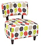 Ave Six Boulevard Chair, Brushed Dot Poppy