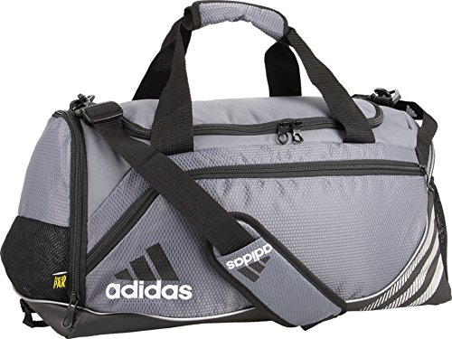 adidas Team Speed Small Duffel Bag, Lead