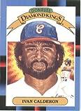 1988 Donruss Baseball Card #25 Ivan Calderon